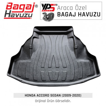 Accord (2009 - 2020) Lüks Bagaj Havuzu
