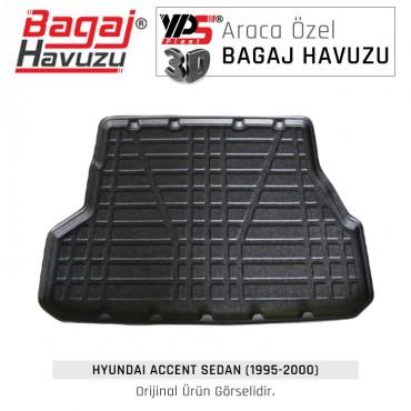 Accent Sedan (1995 - 2000) Lüks Bagaj Havuzu