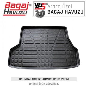 Accent Admire Sedan (2001- 2006) Lüks Bagaj Havuzu