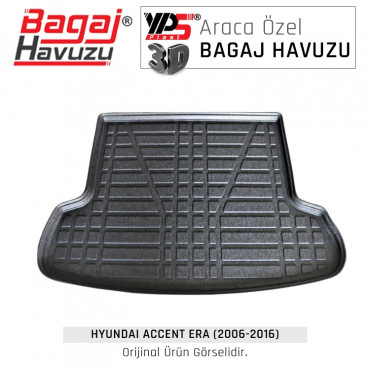 Accent Era Sedan (2006 - 2016) Lüks Bagaj Havuzu