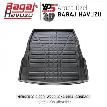 S Seri W - 222 Long 2014 - Sonrası  Standart Bagaj Havuzu