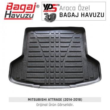 Attrage (2014 - 2018) Yumuşak Bagaj Havuzu