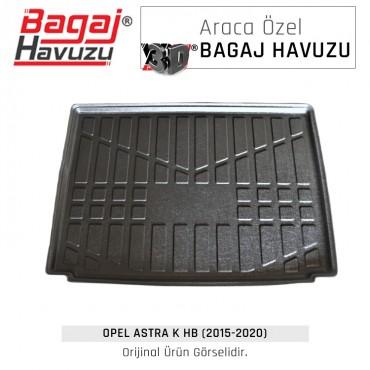 Astra K HB (2015 - 2020) Yumuşak Bagaj Havuzu