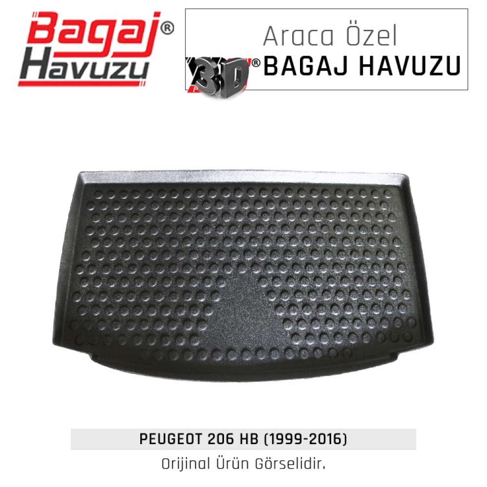 206 HB (1999 - 2016) Lüks Bagaj Havuzu