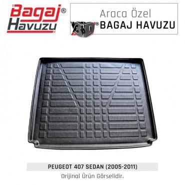 407 Sedan (2005 - 2011) Lüks Bagaj Havuzu