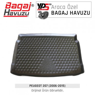 207 HB (2006 - 2015) Lüks Bagaj Havuzu