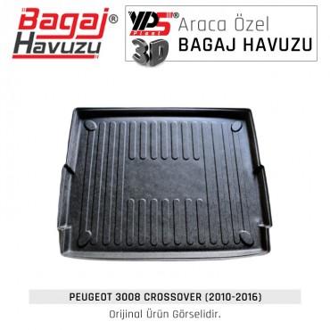 3008 Crossover (2010 - 2016) Lüks Bagaj Havuzu