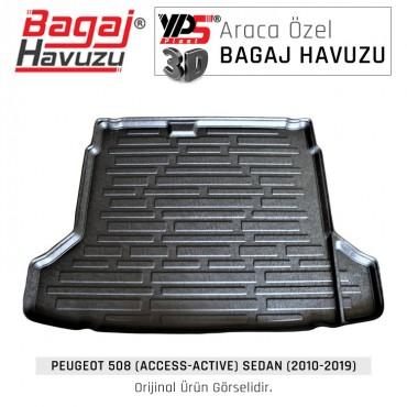 508 Sedan (2010 - 2019) Standart Bagaj Havuzu