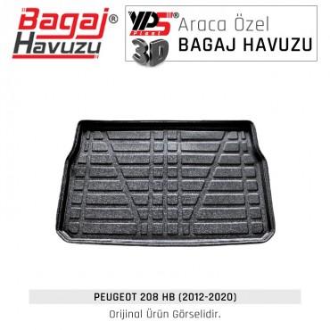 208 HB (2012 - 2020) Lüks Bagaj Havuzu