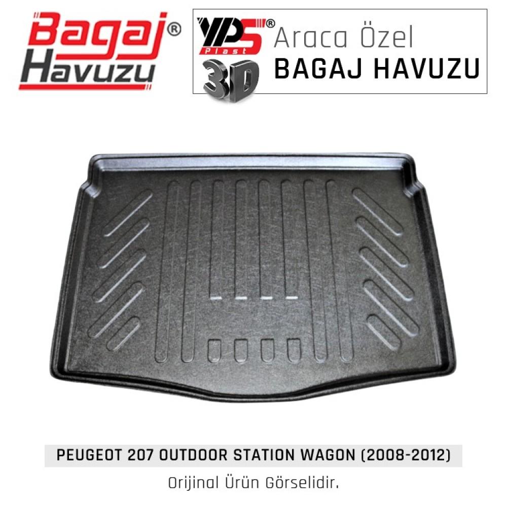 207 Outdoor STW (2008 - 2012) Standart Bagaj Havuzu