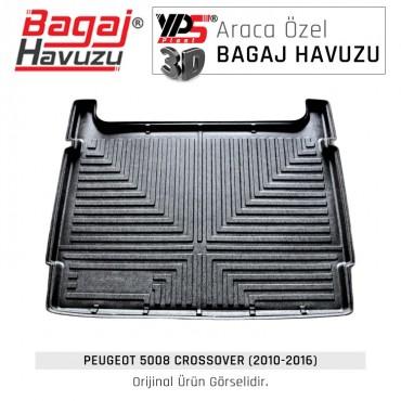 5008 Crossover (2010 - 2016) Lüks Bagaj Havuzu