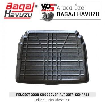 3008 Crossover 2017 - Sonrası Lüks Bagaj Havuzu
