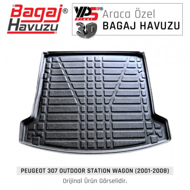 307 Outdoor STW (2001 - 2008) Lüks Bagaj Havuzu