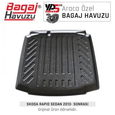 Rapıd Sedan 2013 - Sonrası Standart Bagaj Havuzu