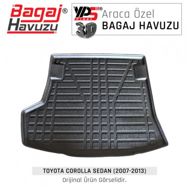Corolla Sedan (2007 - 2013) Standart Bagaj Havuzu
