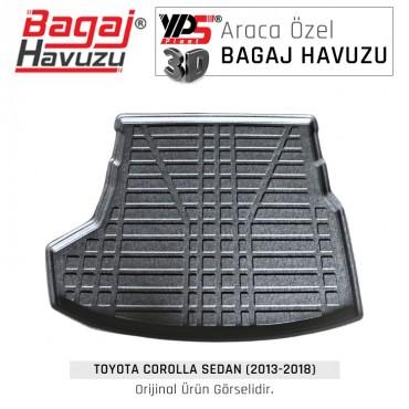 Corolla Sedan (2013 - 2018) Standart Bagaj Havuzu
