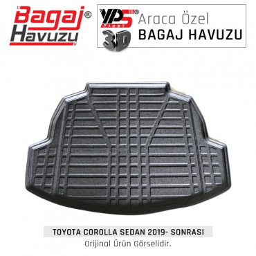 Corolla Sedan 2019 - Sonrası Standart Bagaj Havuzu