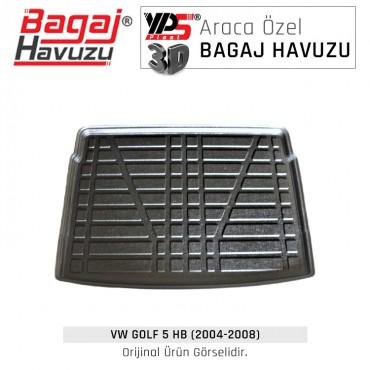 Golf 5 HB (2004 - 2008) Standart Bagaj Havuzu