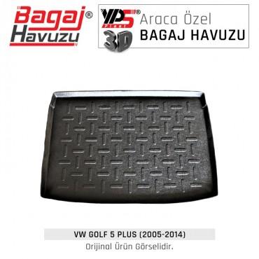 Golf 5 Plus (2005 - 2014) Standart Bagaj Havuzu