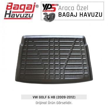 Golf 6 HB (2009 - 2012) Standart Bagaj Havuzu