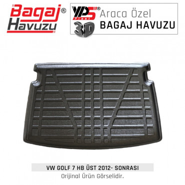Golf 7 HB (2012 - 2021) Standart Bagaj Havuzu