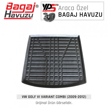 Golf VI Varıant / Combı (2009 - 2012) Standart Bagaj Havuzu
