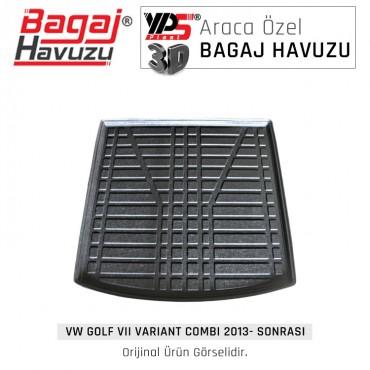 Golf VII Varıant / Combı 2013 - Sonrası Lüks Bagaj Havuzu
