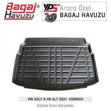 Golf 8 HB 2021 - Sonrası Standart Bagaj Havuzu